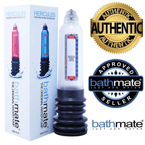 Bathmate Hercules Water Based Penis Pump - Clear