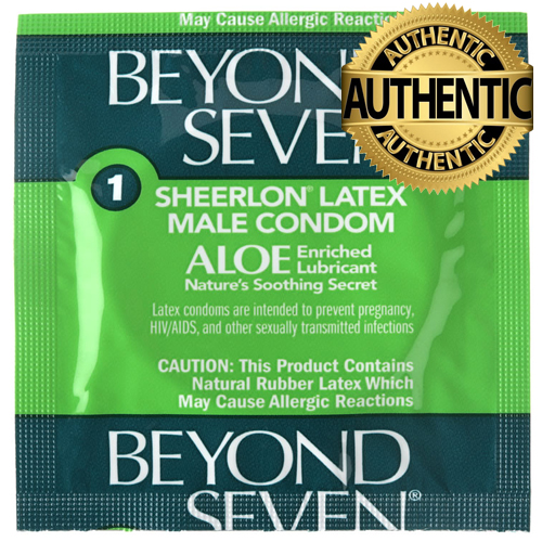Beyond Seven Aloe-enriched Condoms