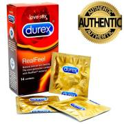 Durex Real Feel Condoms (14 Pack)