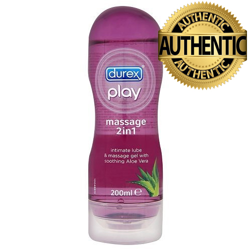 Durex Play Soothing Massage Gel & Lubricant 200ml