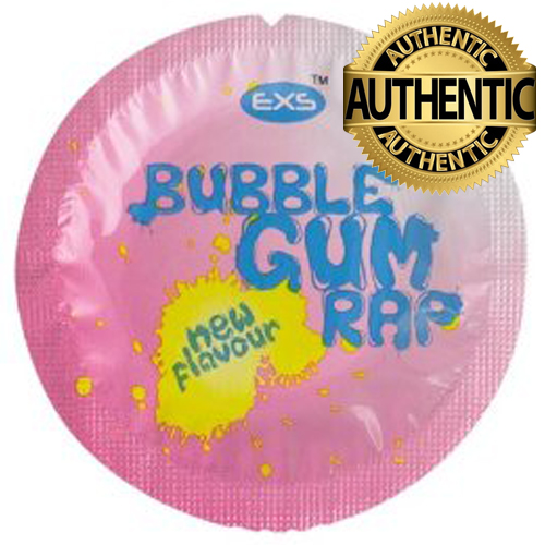 EXS BubbleGum Rap Flavour Condoms