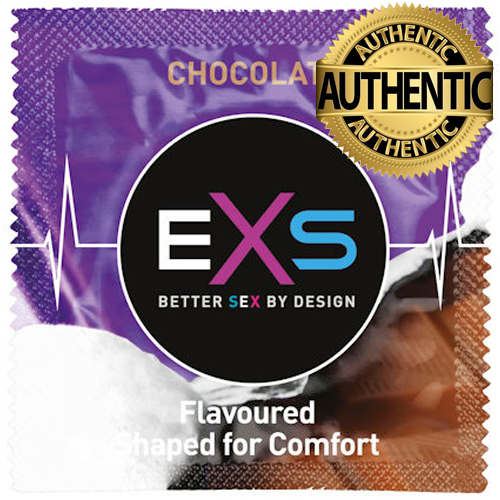 EXS Hot Chocolate Flavour Condoms