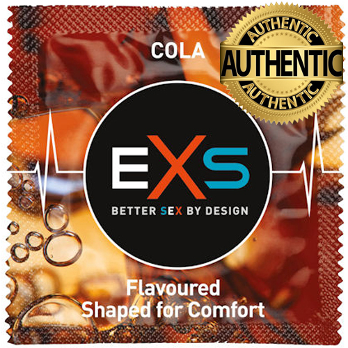 EXS Cola Flavour Condoms