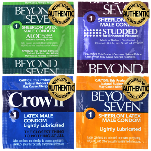48 X Beyond Seven Condom Variety Mix Pack