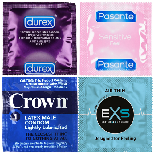 48 X Ultra Thin Condom Variety Mix Pack