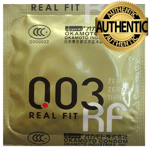 Okamoto 0.03 Real Fit Condoms