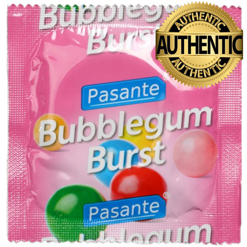 Pasante Bubblegum Burst Flavoured Condoms