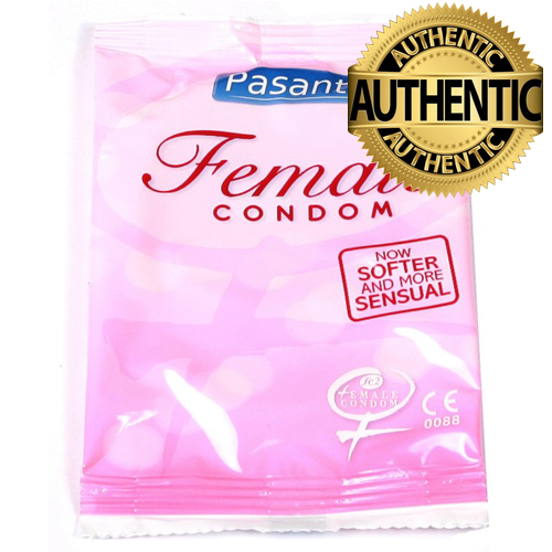 Pasante Female Condoms - Non Latex - Femidom