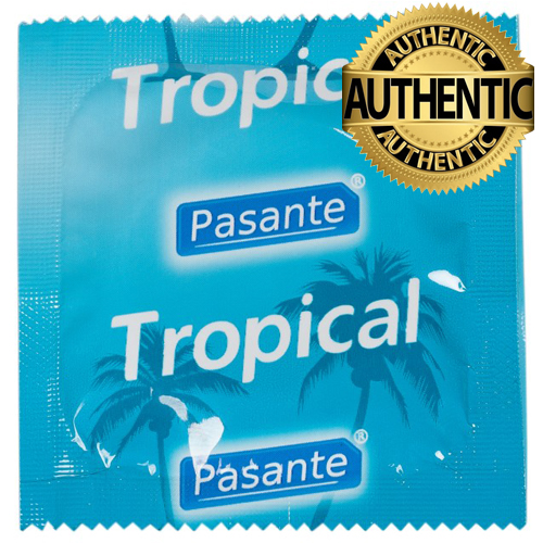 Pasante Tropical Flavoured Condoms