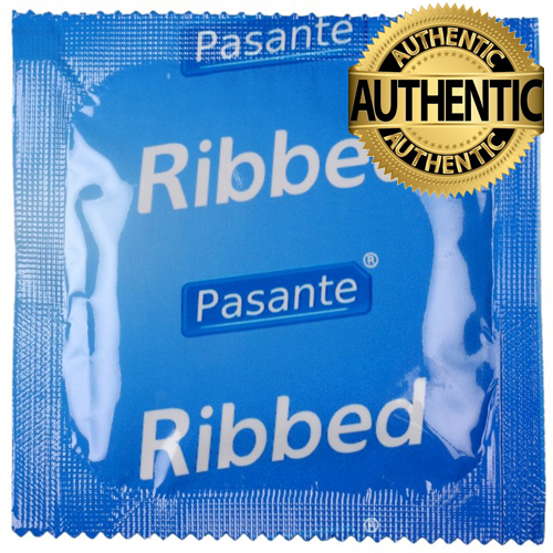 Pasante Ribbed Condoms
