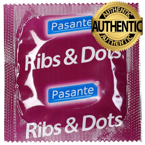 Pasante Ribs & Dots Condoms