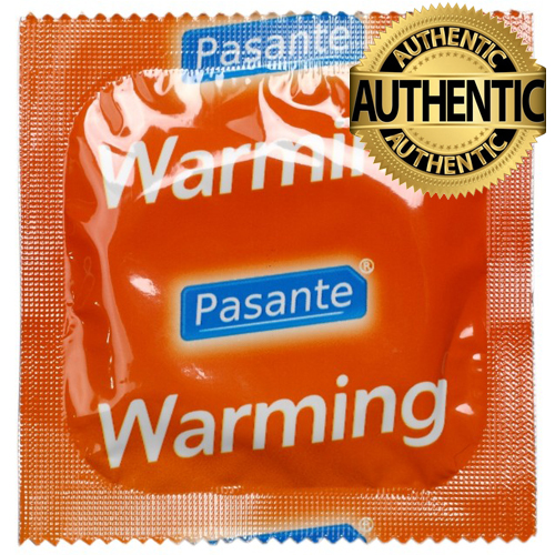 Pasante Warming Sensation Condoms